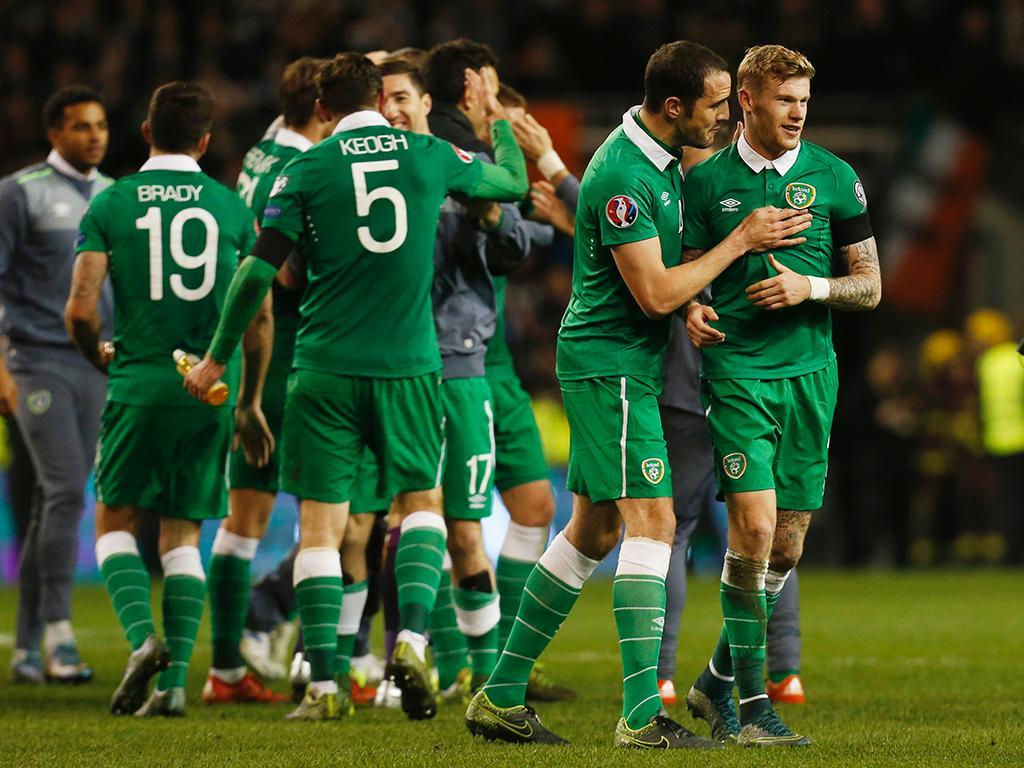 Irlanda vs Bósnia (REUTERS)