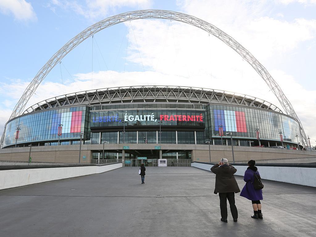 Wembley vai receber o Inglaterra vs França (REUTERS)