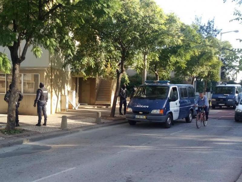 Polícia (Foto: TVI)