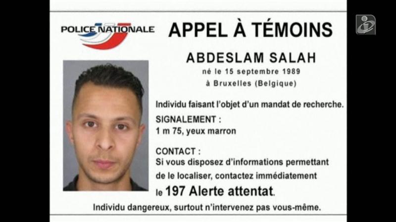 O percurso de Salah Abdeslam após os ataques