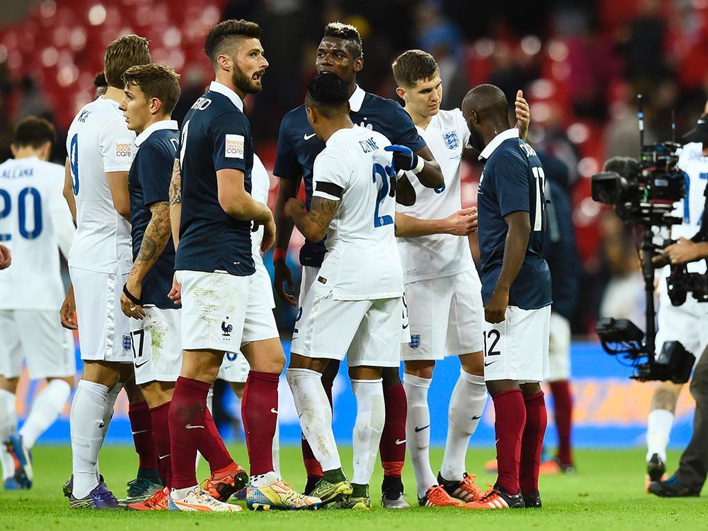 Inglaterra-França (Reuters)