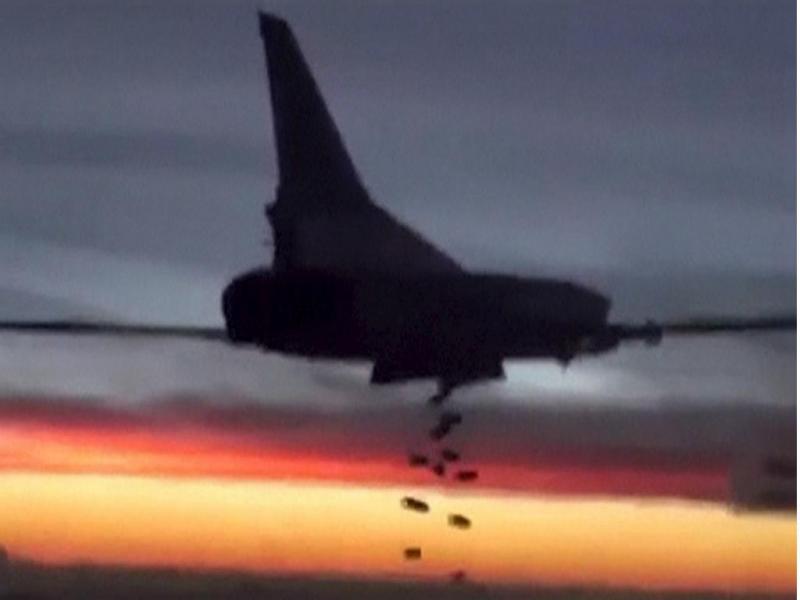 Rússia bombardeia a Síria