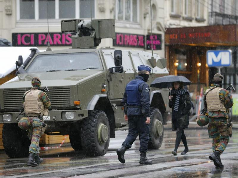 Bruxelas em alerta terrorista máximo (REUTERS)