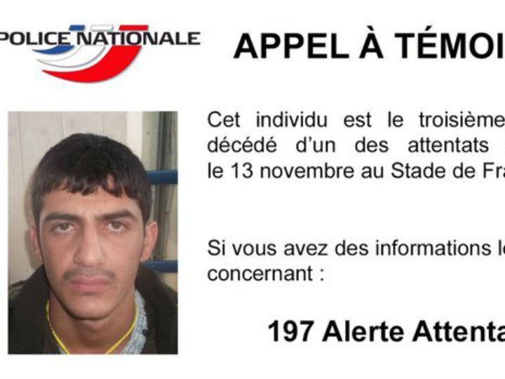 Novo apelo da Polícia francesa (Reprodução Twitter)