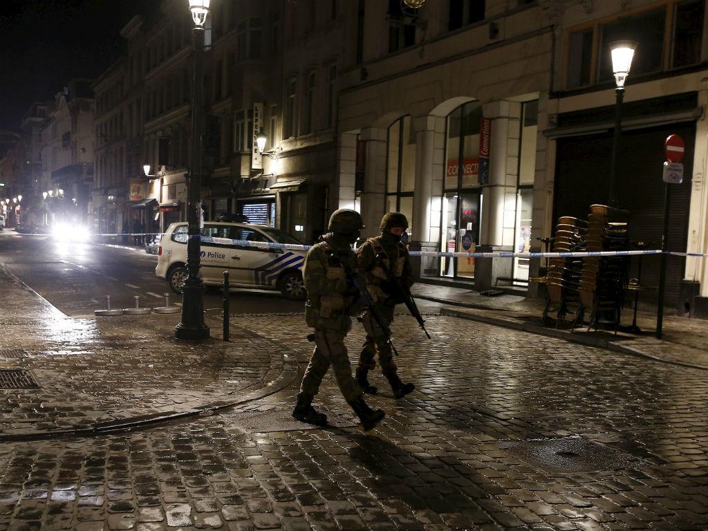 Operações policiais na Bélgica (REUTERS)