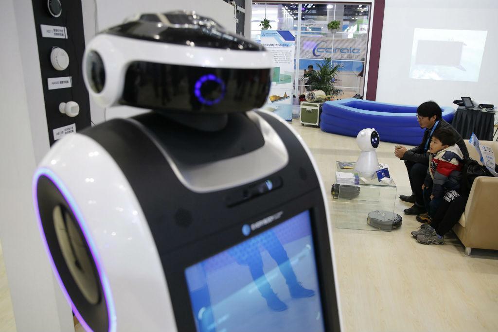 A maior conferência internacional de robots realizou-se na China