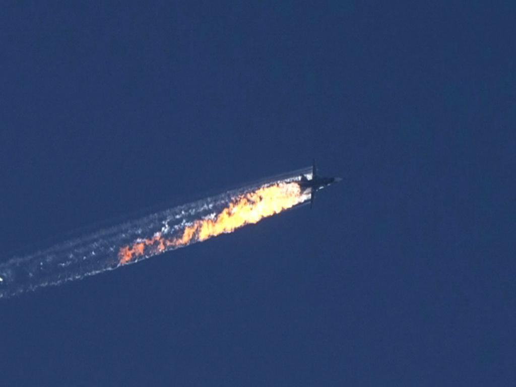 Turquia abate avião russo