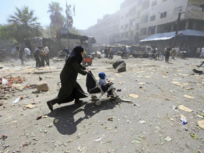 Quando as crianças são vítimas da guerra