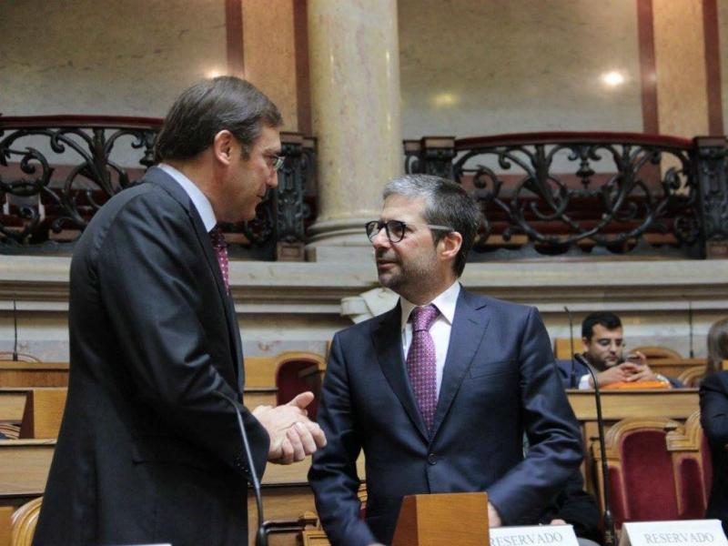 Passos Coelho e Marco António Costa (Fonte: Facebook oficial PSD)