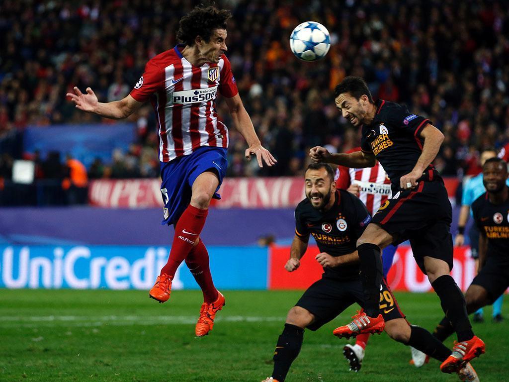 Atlético Madrid-Galatasaray (Reuters)