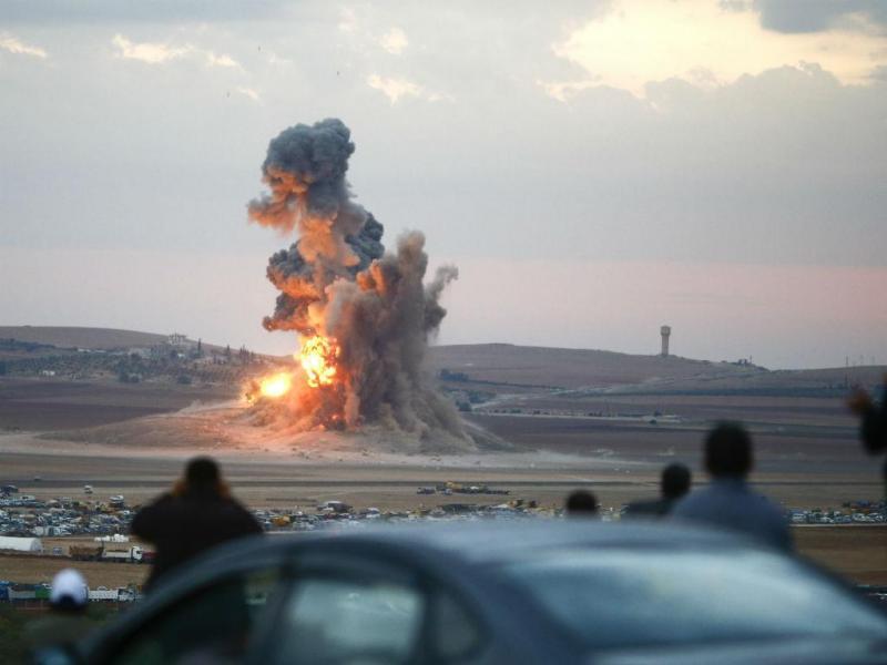 Ataque a Kobani, na Síria