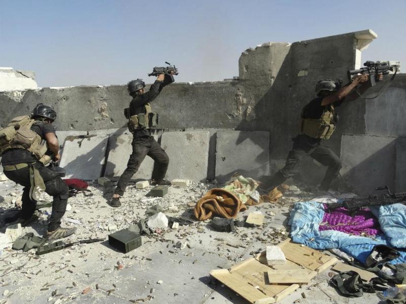 Forças especiais iraquianas tentam proteger a cidade de Ramadi