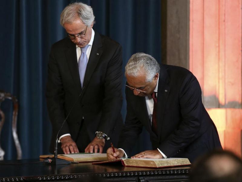 António Costa assina auto de primeiro-ministro