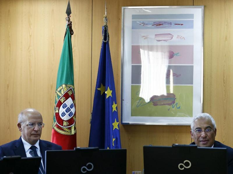 Augusto Santos Silva e António Costa