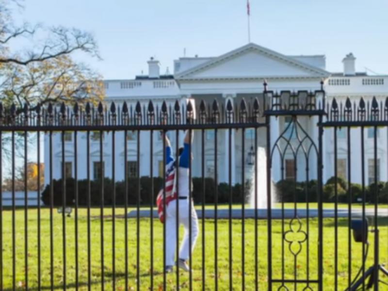 Homem é preso depois de invadir a Casa Branca
