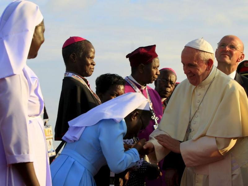 Papa no Uganda (Fonte: Reuters)