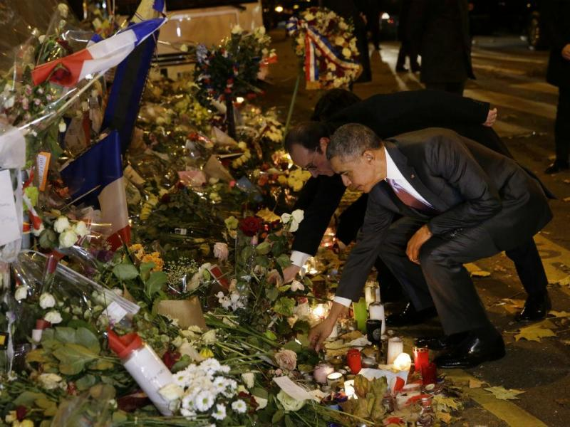 Homenagem de Obama a vítimas do Bataclan [REUTERS]