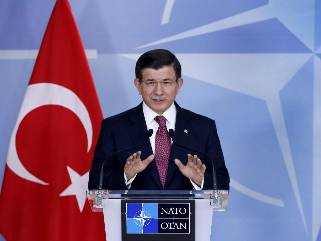 Primeiro-ministro turco, Ahmet Davutoglu