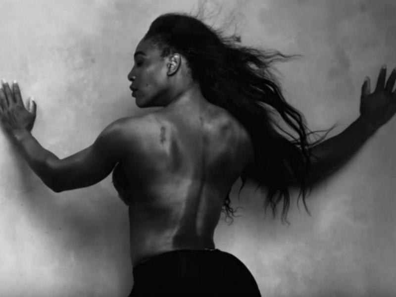 Serena Williams no calendário Pirelli 2016