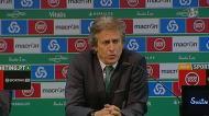 «Jogámos a maior parte do jogo no meio campo do Belenenses»