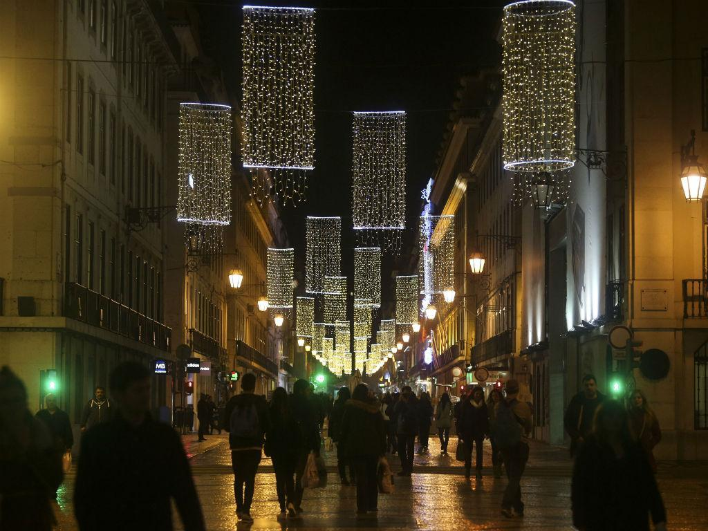 Natal - Iluminação em Lisboa (Fonte: Lusa\A.Lopes)