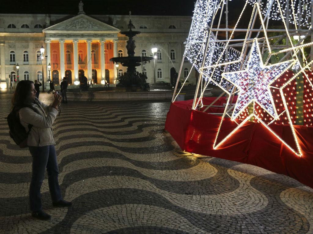 Natal 2015 - Iluminação em Lisboa (Fonte: Lusa\A.Lopes)