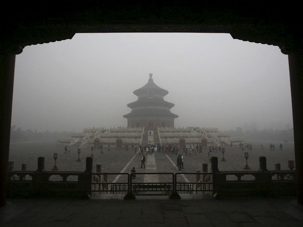 Poluição na China (REUTERS/Stringer)
