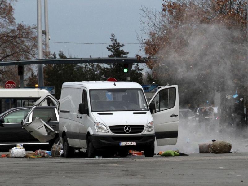 Carrinha suspeita obriga à evacuação do aeroporto de Sofia, na Bulgária [Reuters]