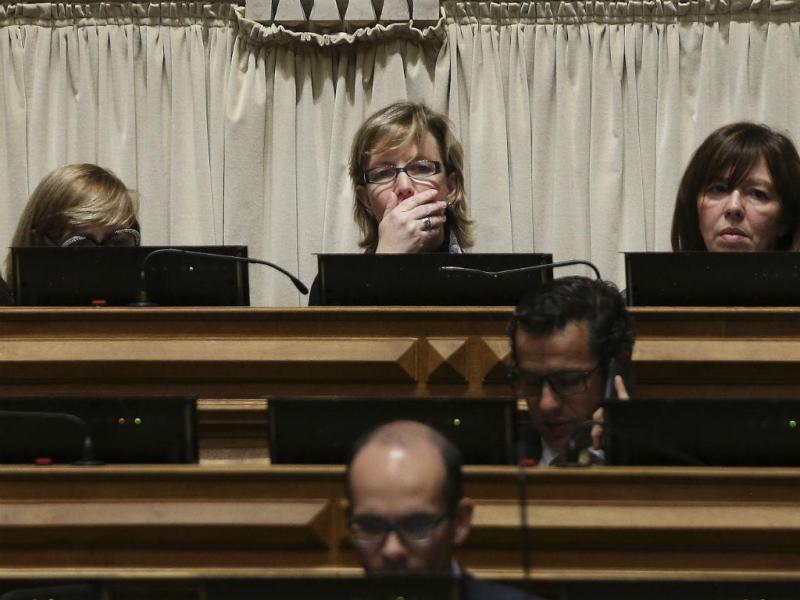 A deputada do PSD, Maria Luís Albuquerque (MÁRIO CRUZ/LUSA)