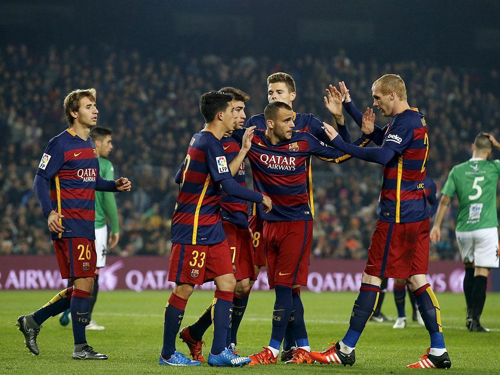 Barcelona-Villanovense (Reuters)