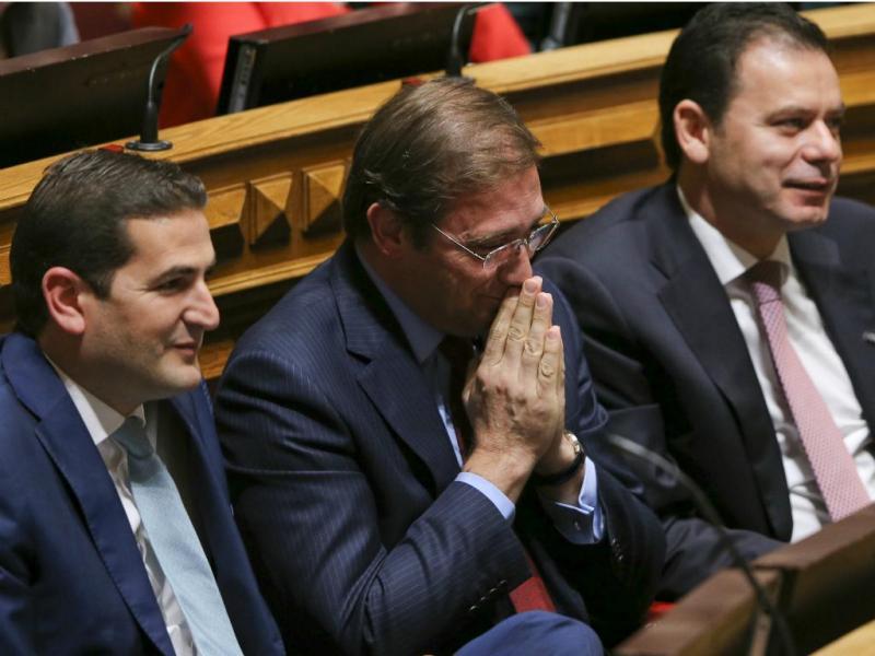 Passos Coelho no Parlamento