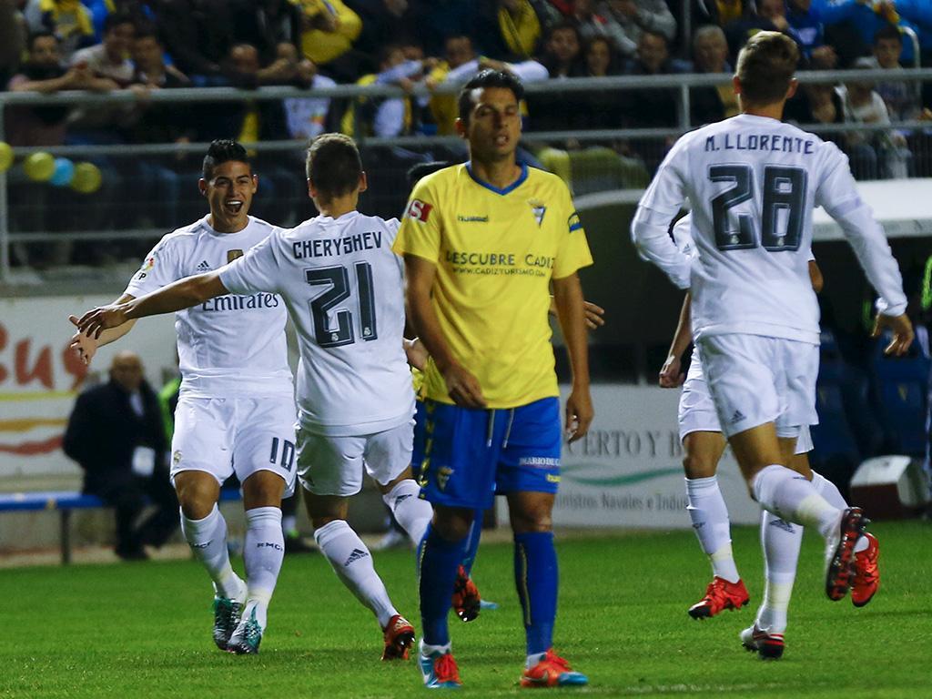 Cadiz-Real Madrid (Reuters)