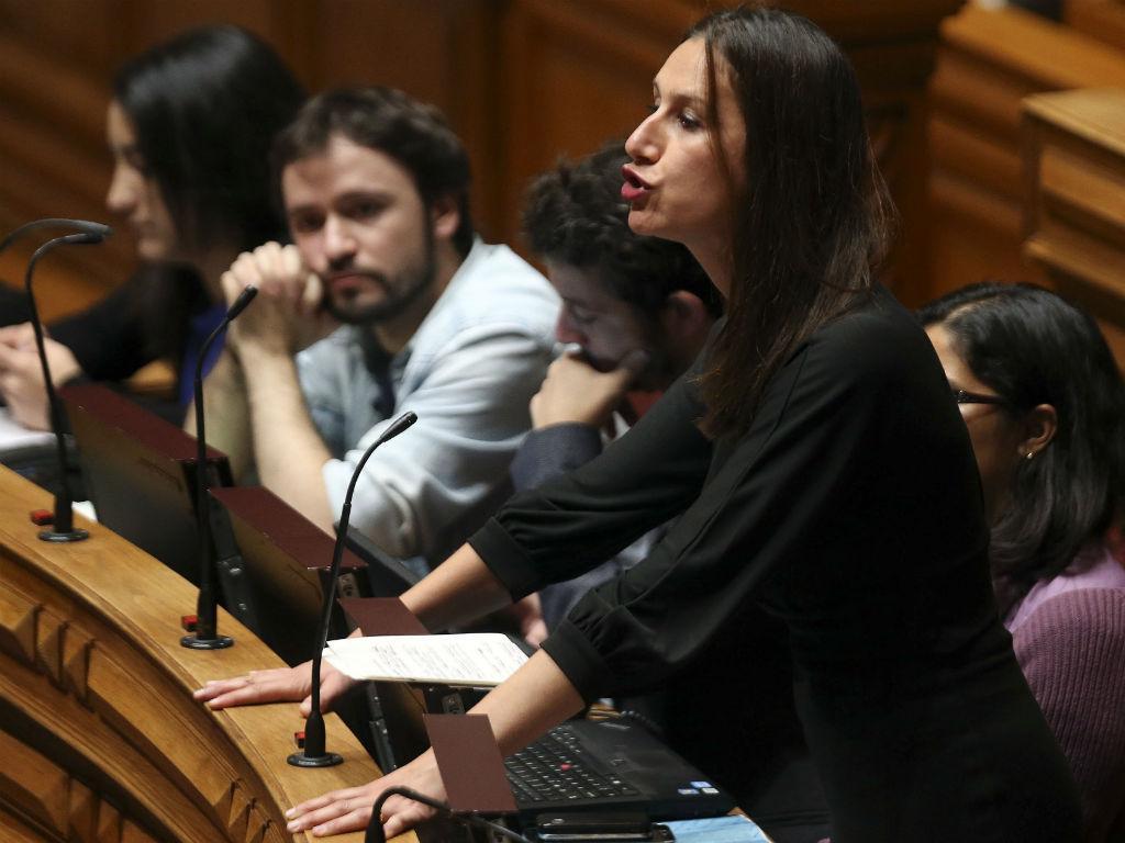 A deputada do PCP, Rita Rato (TIAGO PETINGA/LUSA)