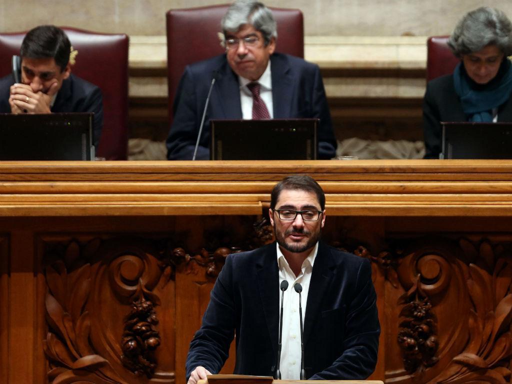 O líder parlamentar do PCP, João Oliveira ( TIAGO PETINGA/LUSA)