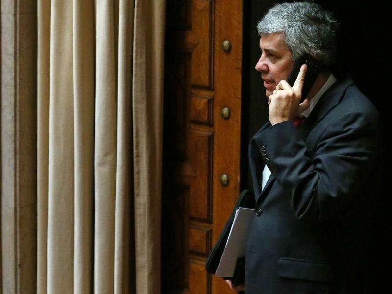 O Ministro das Finanças, Mário Centeno (TIAGO PETINGA/LUSA)