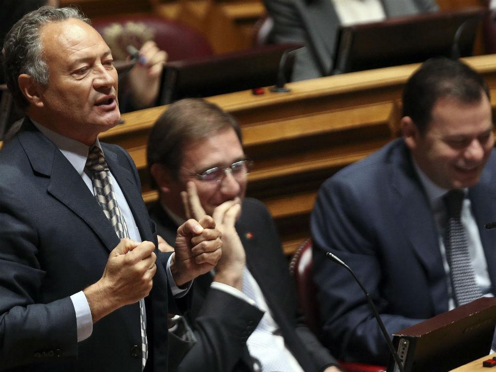 Deputado do PSD, Adão e Silva (TIAGO PETINGA/LUSA)