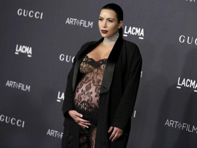 Kanye West e Kim Kardashian foram novamente pais (REUTERS)