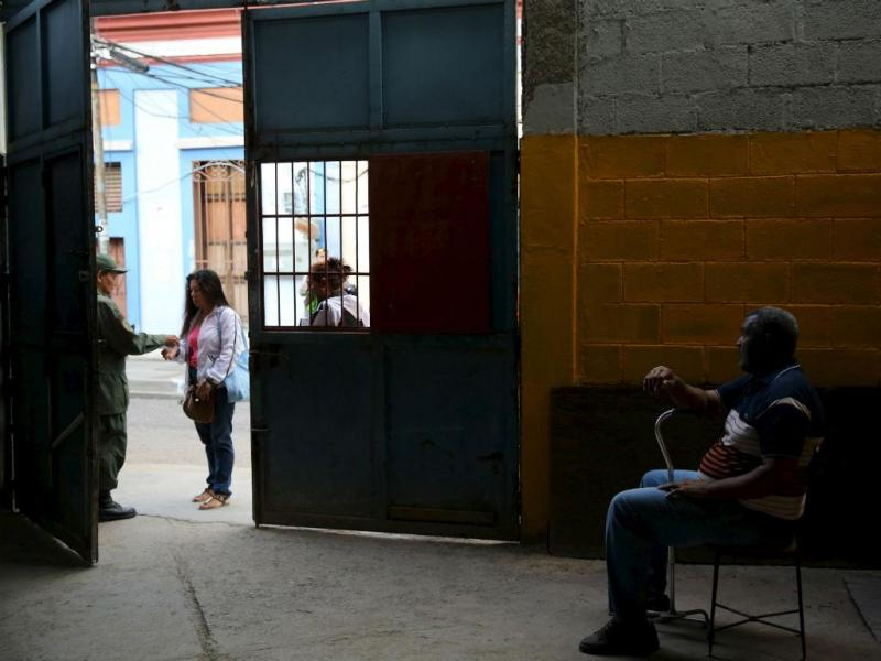 Dia de eleições na Venezuela