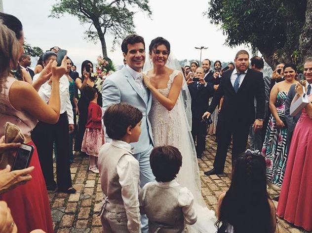 Confira os looks dos convidados do casamento de Thaila Ayala