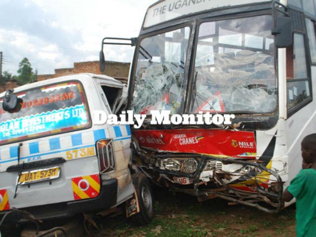 Acidente no Uganda
