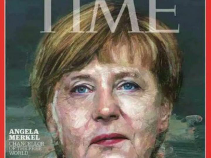 Merkel, personalidade do ano 2015 pela Time (Reprodução)