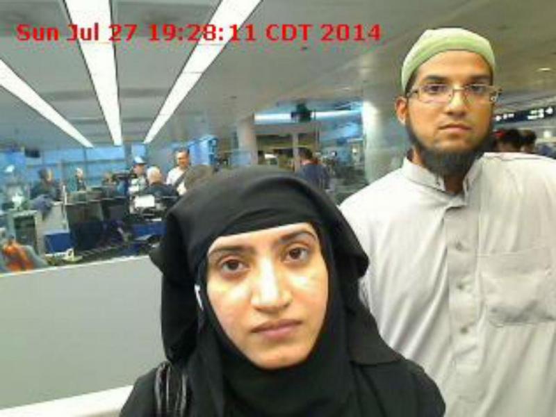 Tashfeen Malik e Syed Farook (Fonte: Reuters)