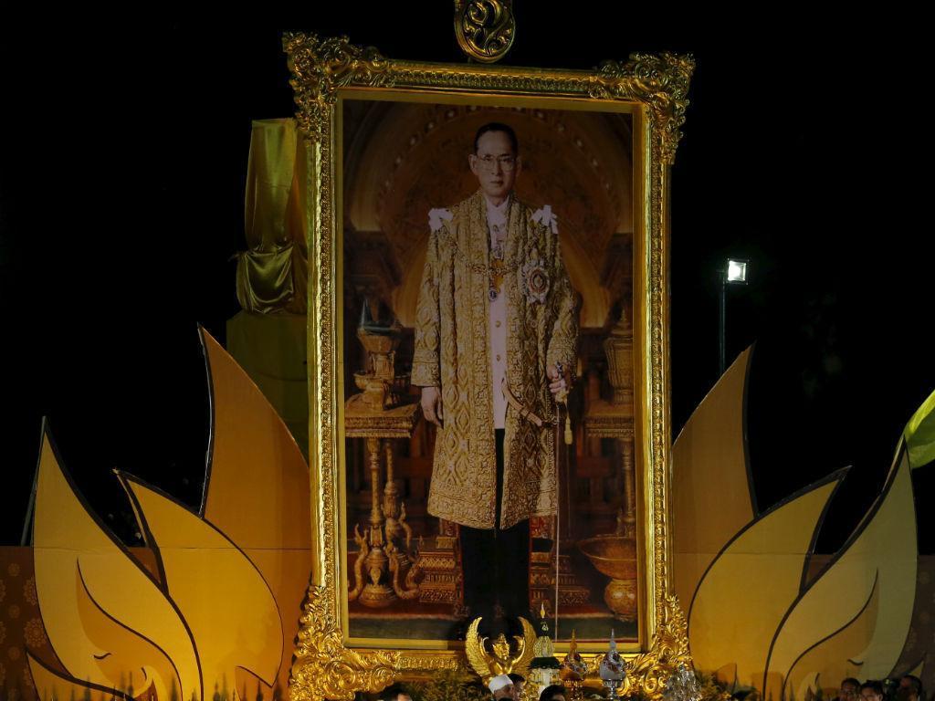 Rei da Tailândia (Reuters)