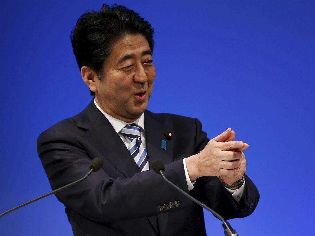 Shinzo Abe, primeiro-ministro japonês (Reuters)
