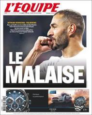 L'Équipe 10 dezembro 2015