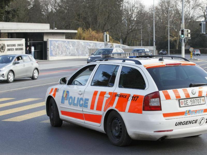 Reforço da segurança em Genebra (EPA/Lusa)