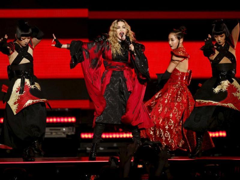 Madonna (REUTERS/Benoit Tessier)