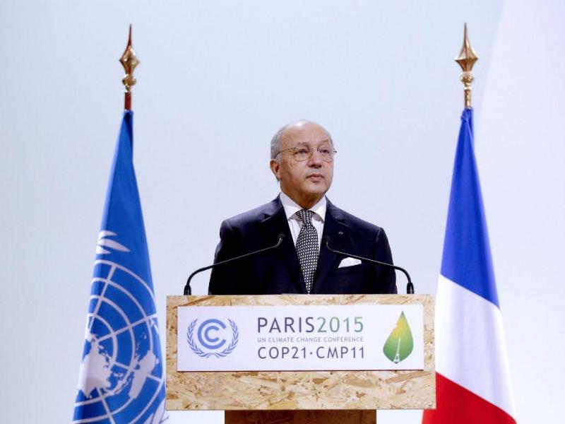 Ministro dos Negócios Estrangeiros francês, Laurent Fabius (EPA / YOAN Valat)