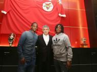 Nélson Semedo e Renato Sanches renovaram (Foto slbenfica)