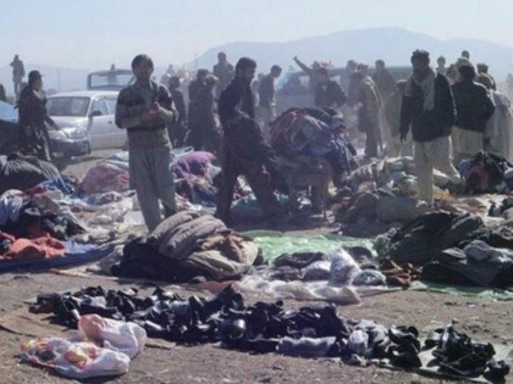 Atentado à bomba em Parachinar, no Paquistão (Fonte: Reprodução Twitter)